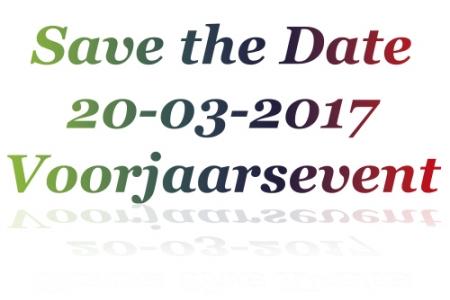 Voorjaarsevenement 20 maart 2017